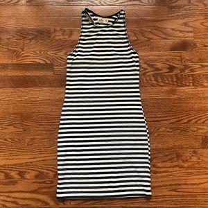 Hollister Navy Stripe Dress